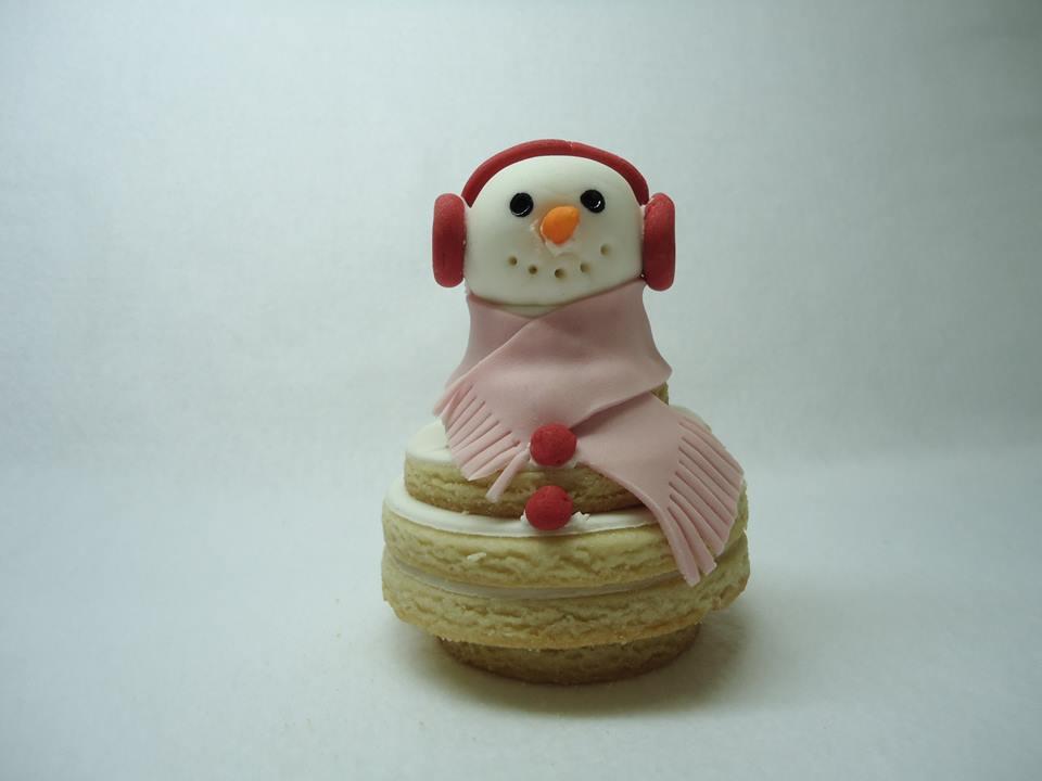 Biscoito Boneco de Neve R$ 12,00