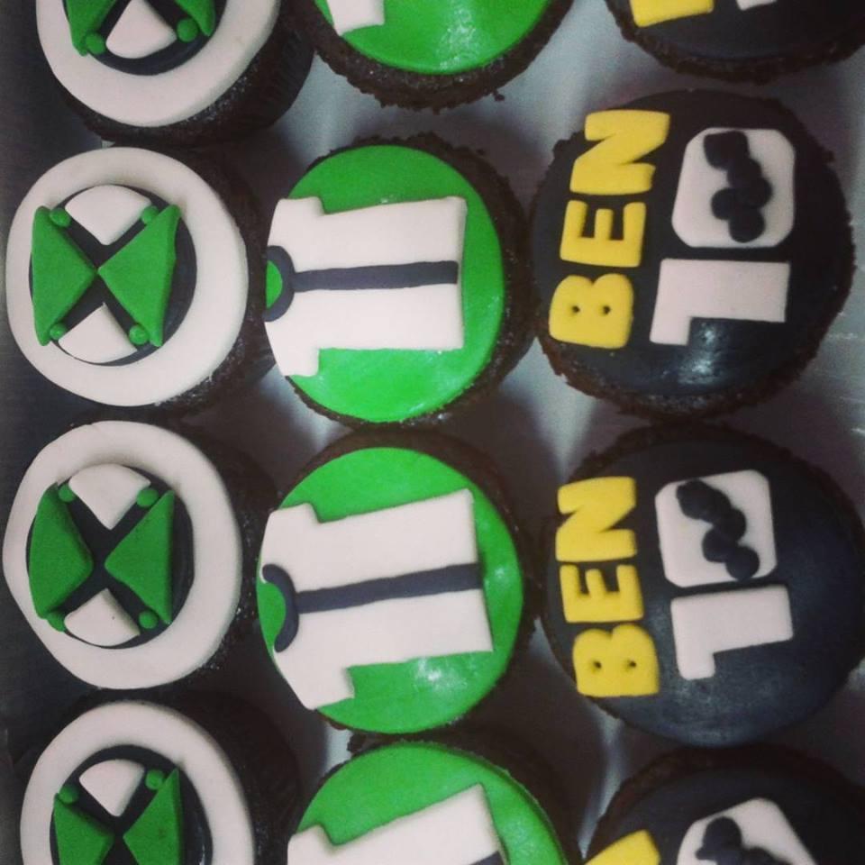 Cupcake Ben 10 R$ 10,00