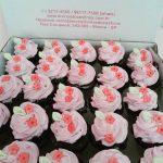 Cupcake Pequeno de flores R$ 7,00