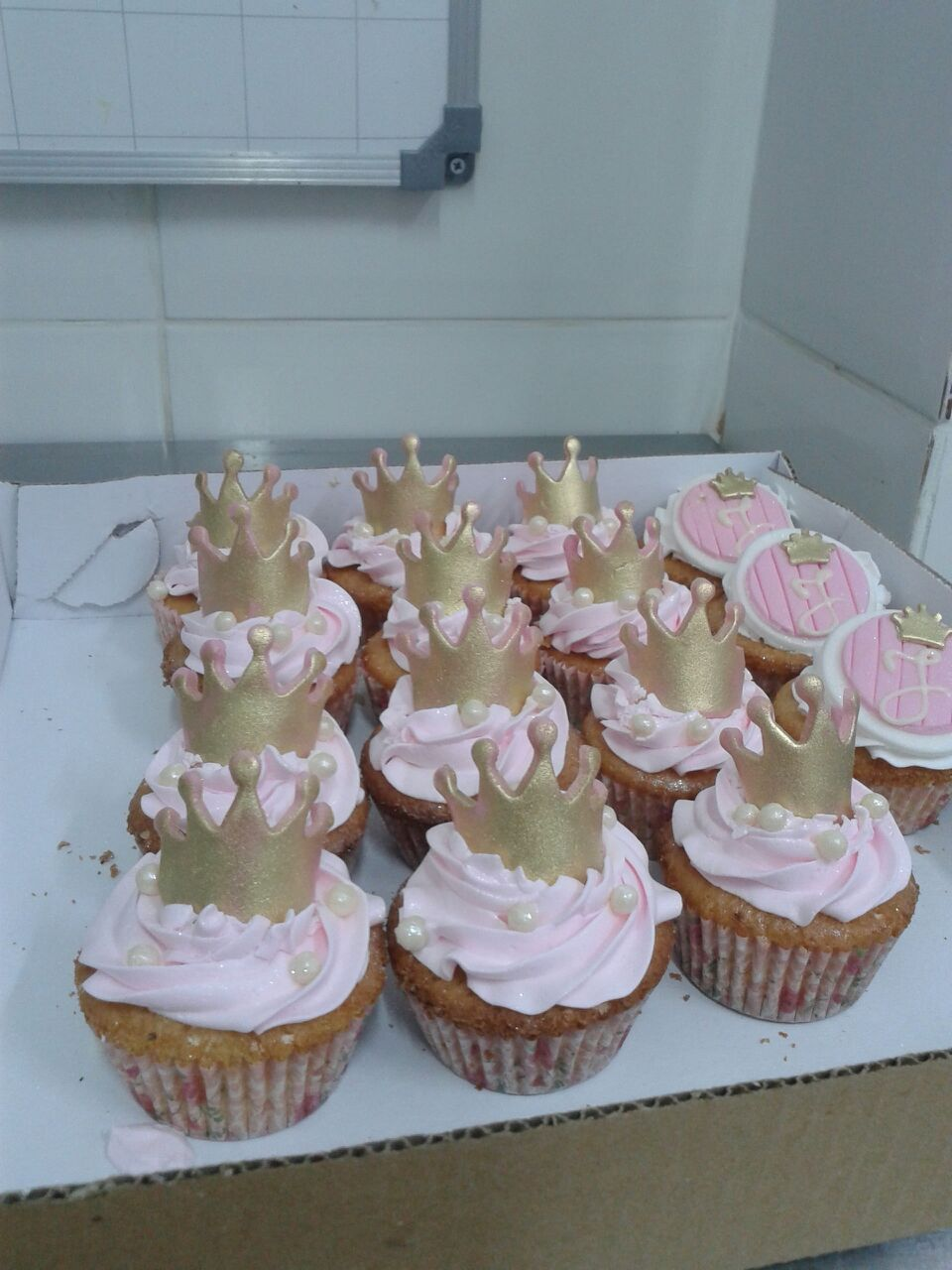 Cupcake Realeza R$ 10,00