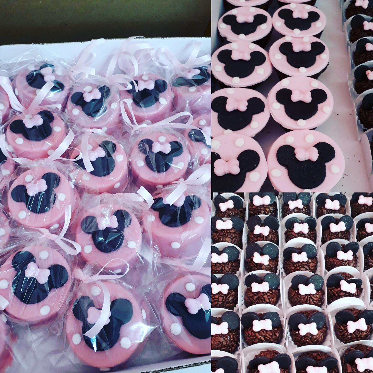 Brigadeiro, Pão Mel e Cupcake P Personalizados