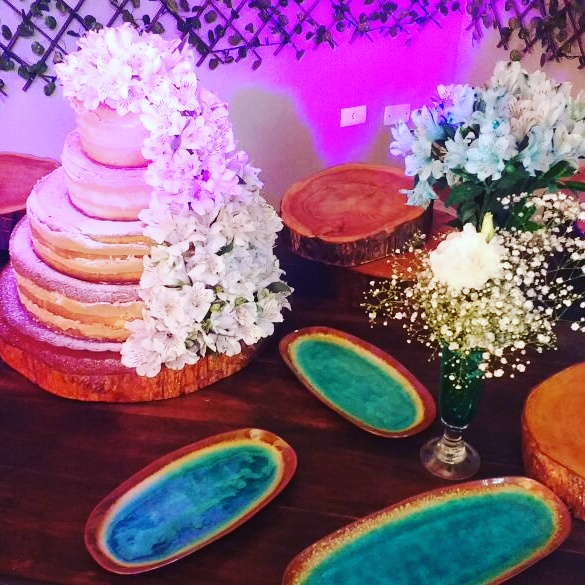 Naked Cake com flores – R$ 69,90 kg