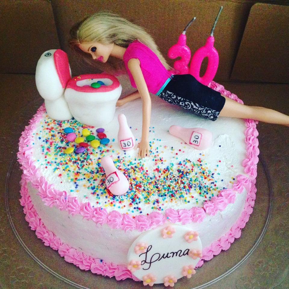 Bolo Barbie Chapada R$79,90 kg