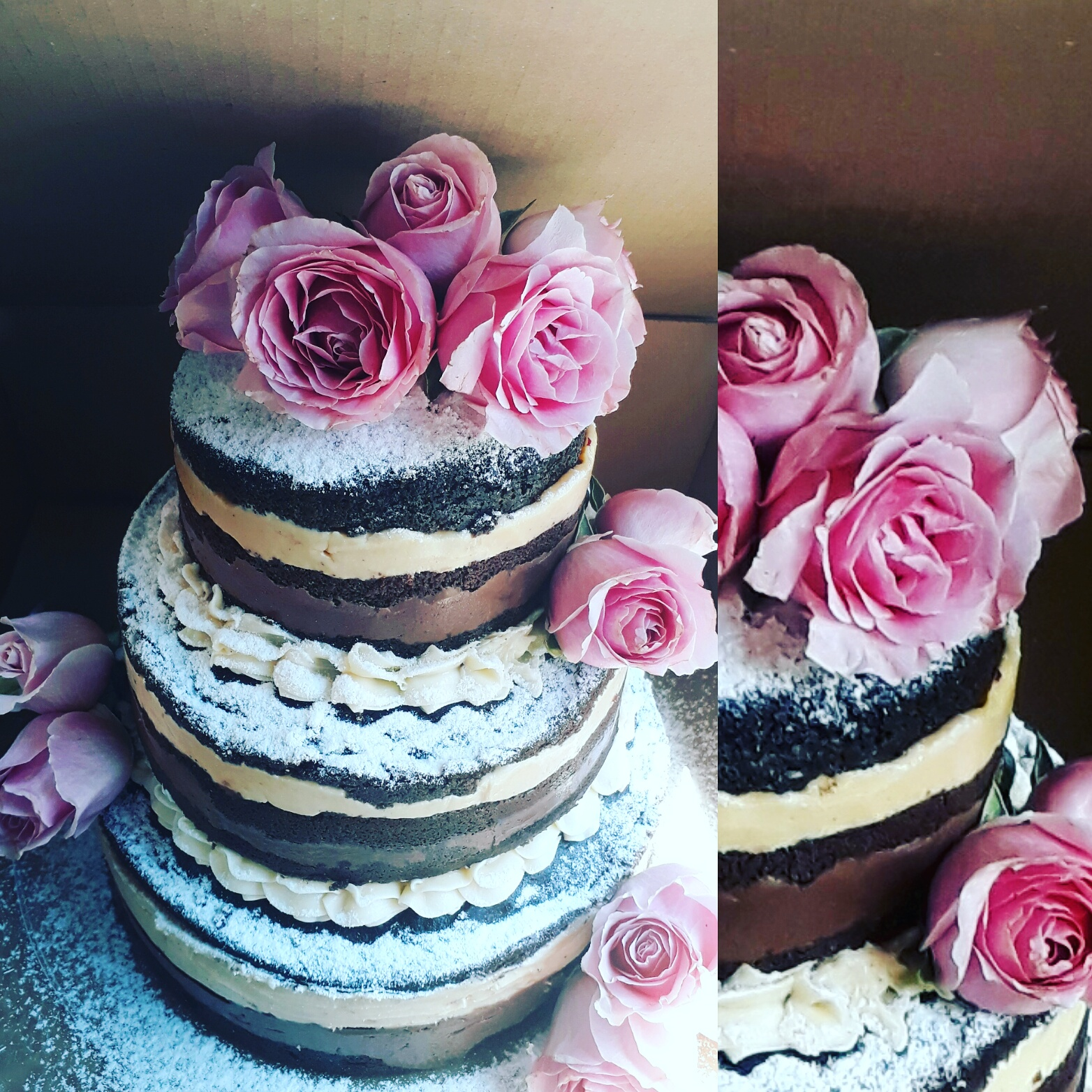Naked Cake de Chocolate – R$ 69,90kg