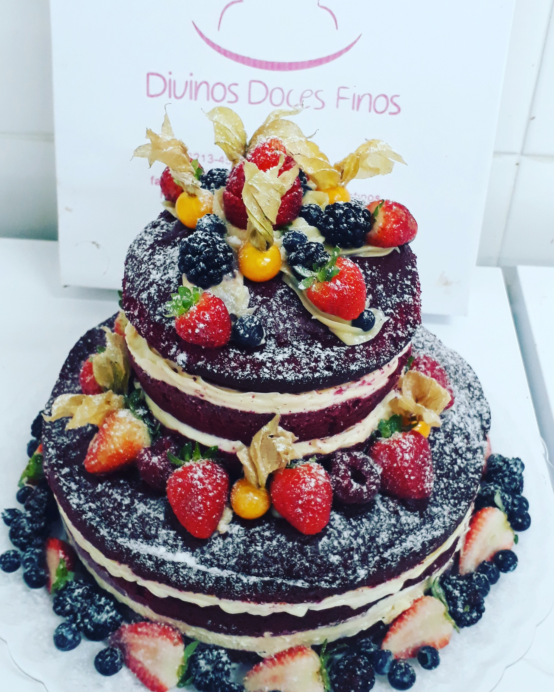 Naked Cake de Red Velvet – R$ 69,90kg
