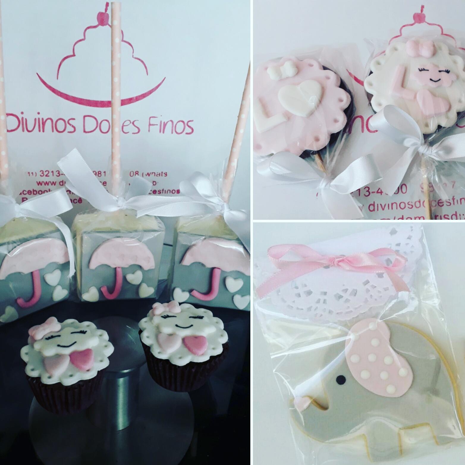 Pão Mel, Pirulito, Biscoito, Cupcake P Personalizados
