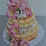 Naked Cake com flores R$ 79,90kg
