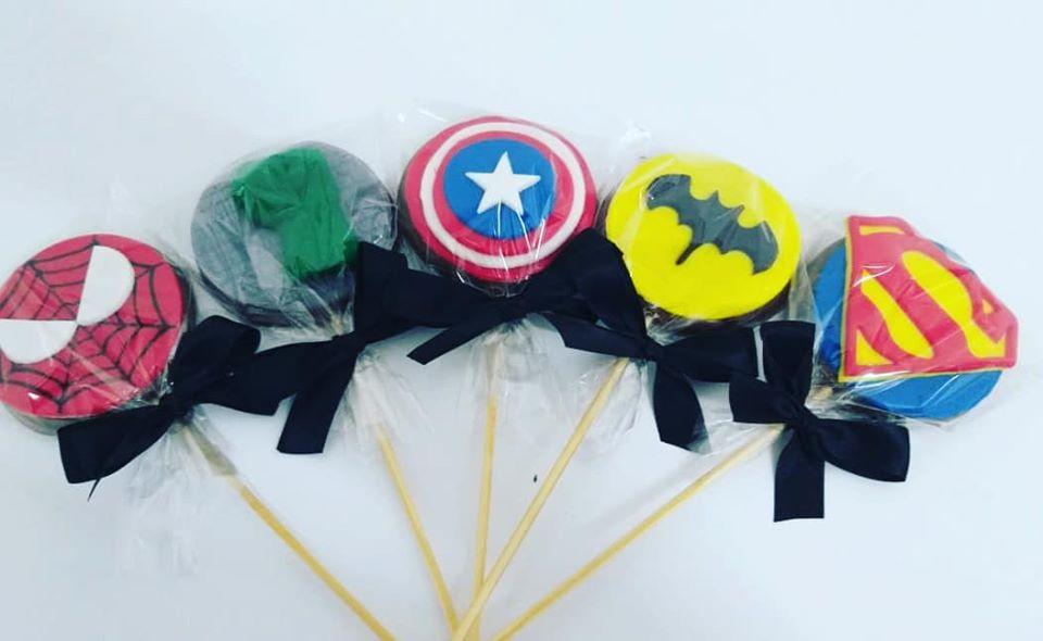 Pirulito Super Heróis R$ 10,00