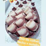 Ovo de Páscoa de Colher Kinder + Ninho e Nutella R$79,90